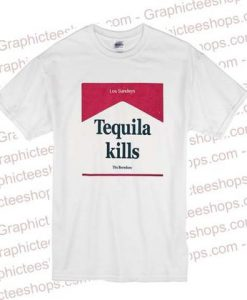Tequila Kills Los Sundays T Shirt