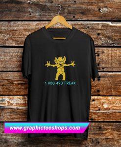 1 900 490 Freddie Freaker T Shirt (GPMU)