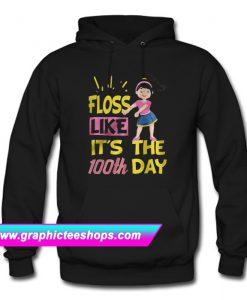 100 Days Of School Girl Floss Dance Hoodie (GPMU)