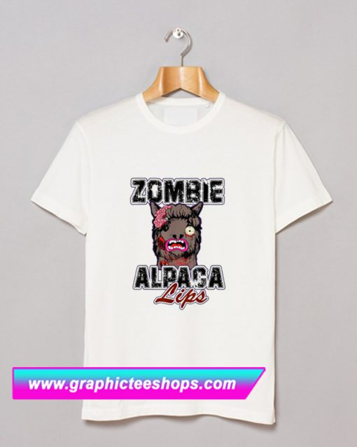 Zombie Alpaca T Shirt (GPMU)
