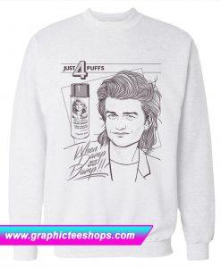 4 Puffs Stranger Things Sweatshirt (GPMU)