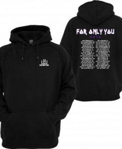 4OU World Tour 2016 Black Front and Back Hoodie (GPMU)