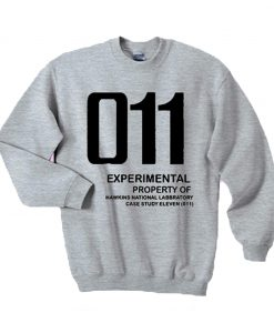 011 Experimental property of hawkins national laboratory sweatshirt (GPMU)