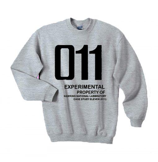 011 Experimental property of hawkins national laboratory sweatshirt (GPMU)