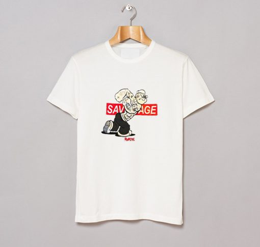 Popeye Savage Graphic Logo T-Shirt (GPMU)